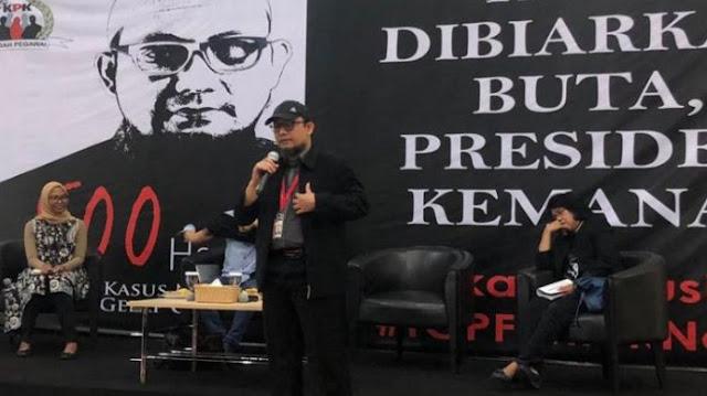 Novel Baswedan Sebut Kasus Penyerangannya Sengaja Tidak Diungkap