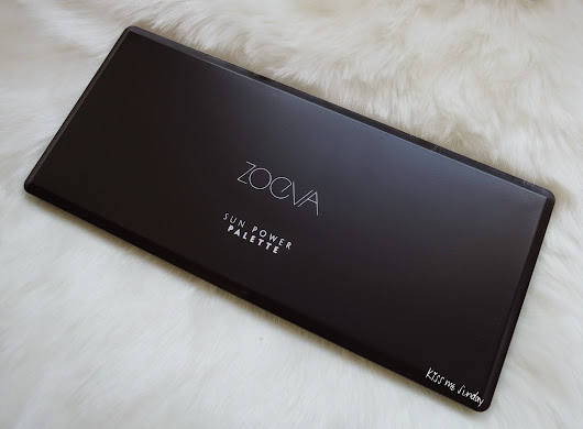SWATCHES&REVIEW : ZOEVA The Power Palette