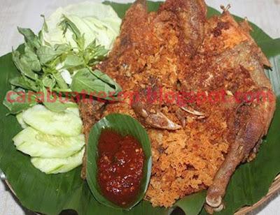 Resep Ayam Goreng Kalasan Kremes Sederhana Spesial Asli Enak CARA MEMBUAT AYAM GORENG KALASAN KREMES