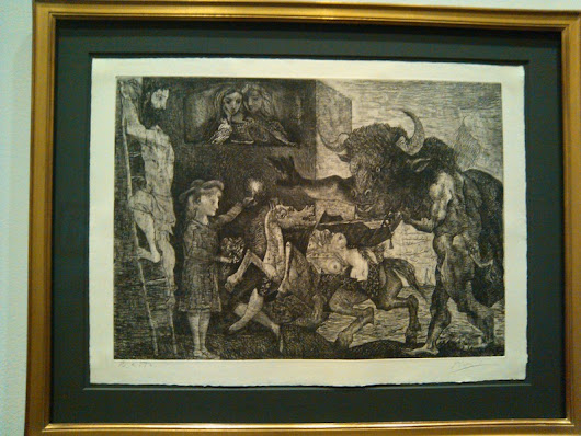 Works on Paper by Picasso at the Art Institute