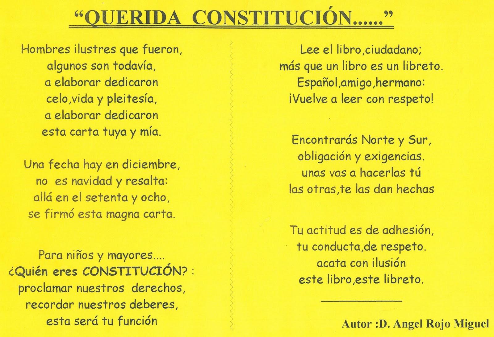 Mi colegio Fco. Giner de los Ríos-Valladolid: CONSTITUCIÓN