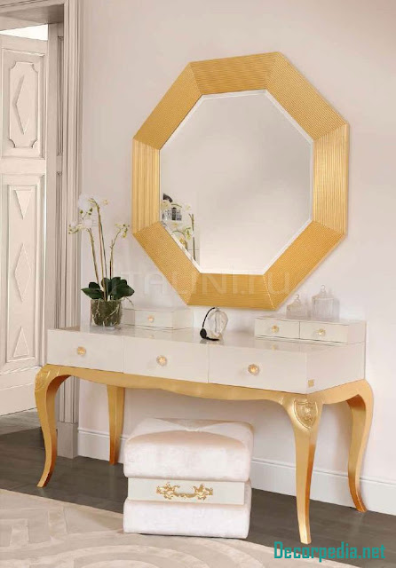 Modern dressing table design ideas with mirror
