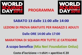 maratona squash evento Mia Neri