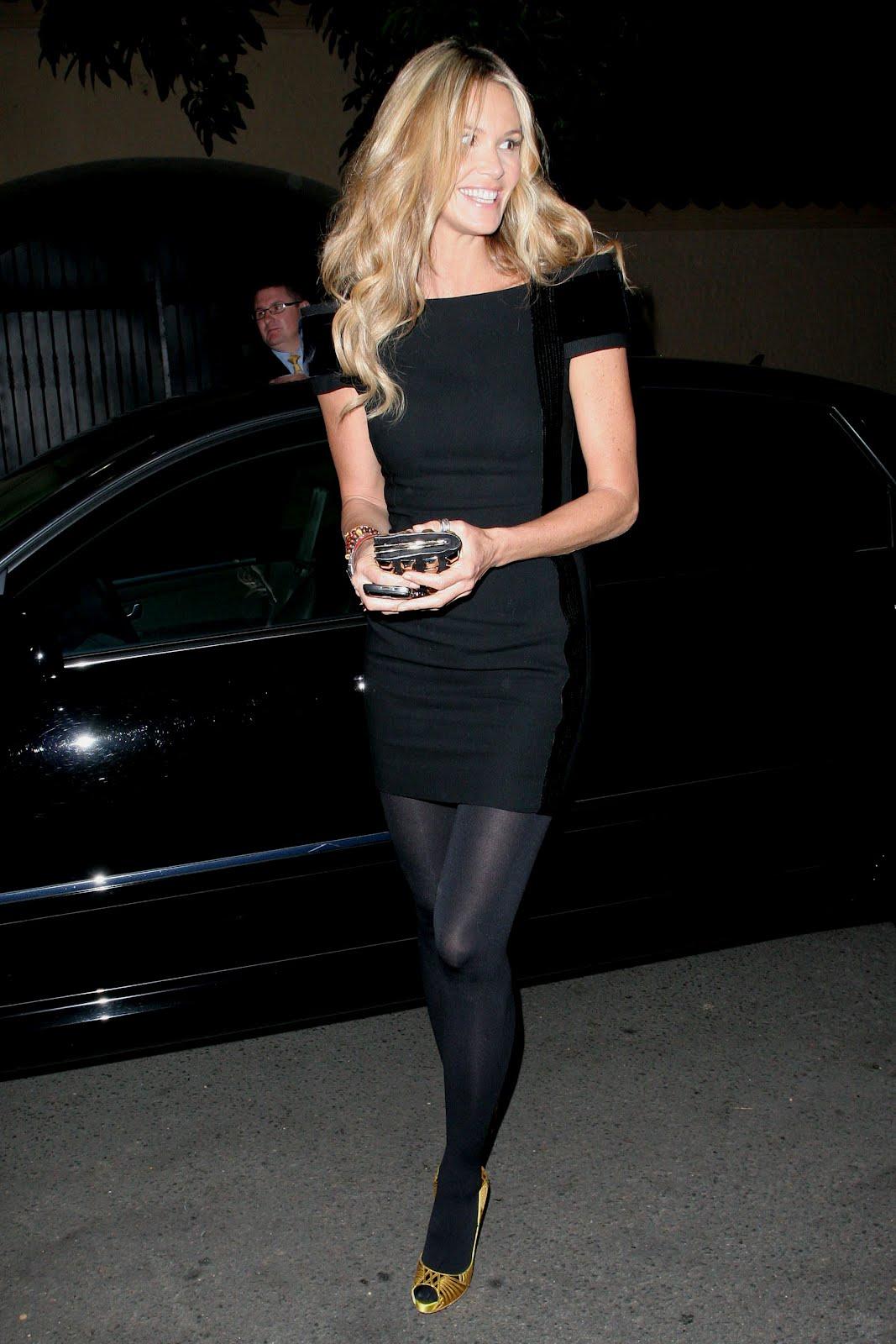 Celebrity Hosiery Elle Macpherson