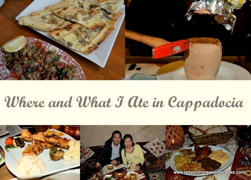 My Foodie Destinations in Cappadocia