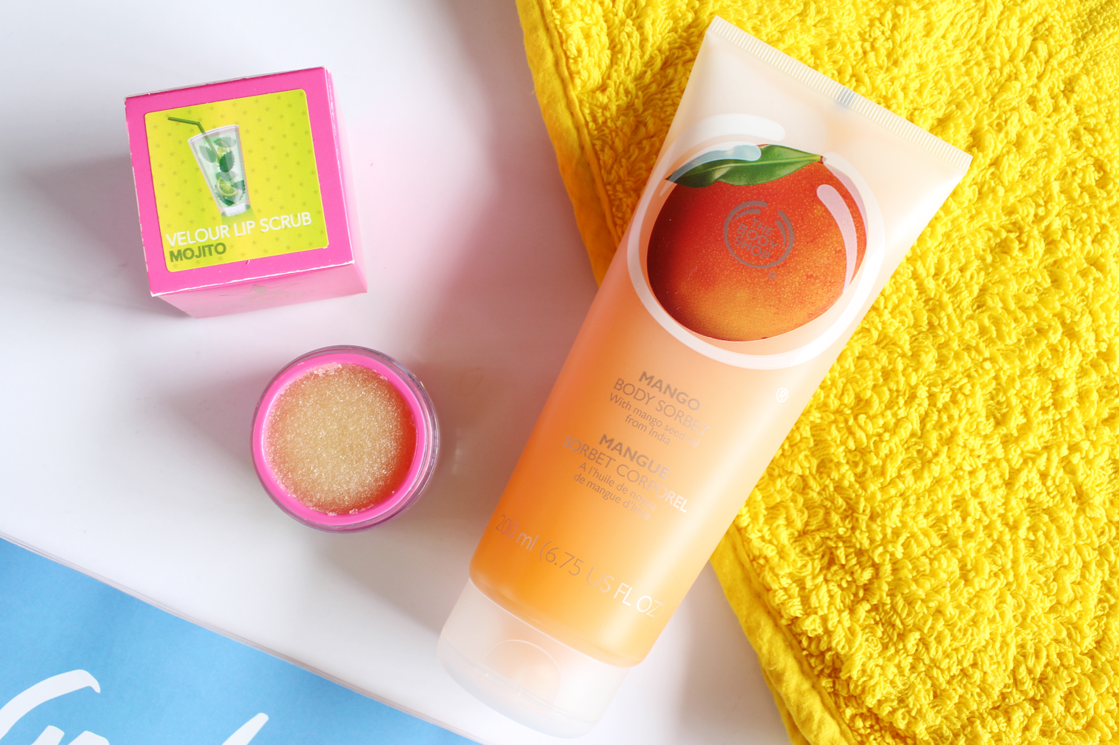 SUMMER BODY ESSENTIALS - The Body Shop Body Sorbet, The Body Shop Seaweed Mattifying Lotion, Garnier Ambre Solaire Sensitive Advance Sunscreen + Jeffree Star Velour Lip Scrub - CassandraMyee