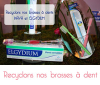 recyclage des brosses à dent inava et elgydium