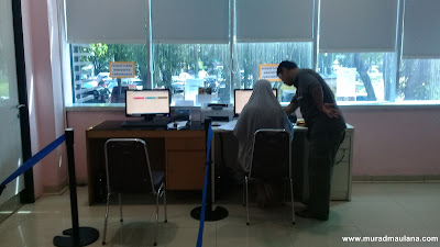Pendaftaran Mandiri Untuk Mengisi Formulir Informed Consent
