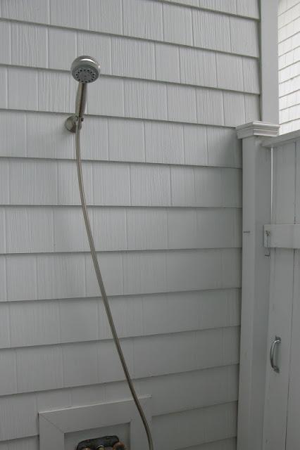 Just Grand Outdoor Shower Season