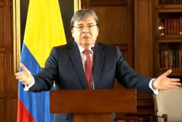 Canciller colombiano afirma que no se ha recibido solicitud de extradición de Borges #10Ago