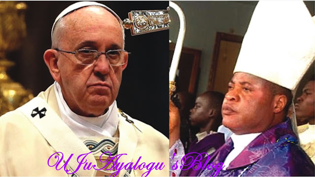 Bishop row: 3,000 Imo diocese members protest against Pope's choice