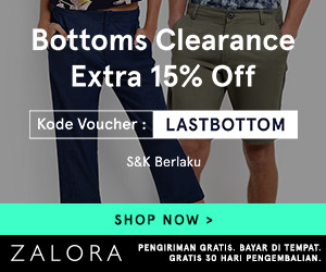 Kode Voucher Zalora September
