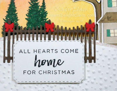 Heart's Delight Cards, Farmhouse Christmas, Hearts Come Home, Control Freaks, Stampin' Up!