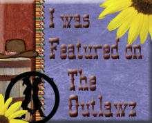 I was featured on the Outlawz 12-10-2011