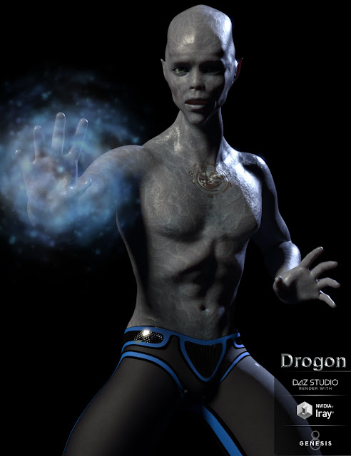 Drogon for Genesis 8 Male
