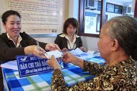 Tăng 8% lương hưu, trợ cấp BHXH từ 01/01/2015