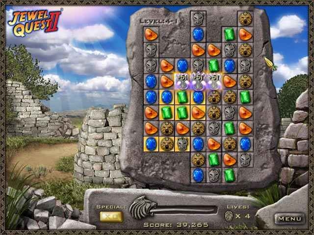 Jewel Quest II seven seas free download for PC and Android Version