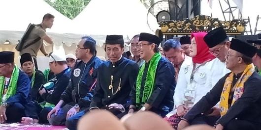 Jokowi Sebut Dukungan FBR Energi Besar!