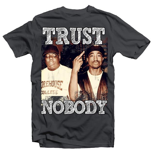 tupac biggie tshirt design