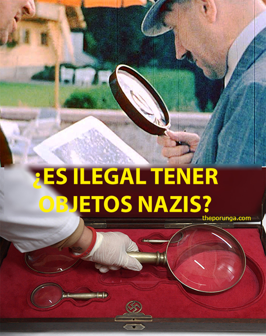 ¿Es ilegal tener objetos con simbología nazi?