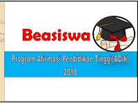 Informasi Jadwal Pendaftaran Beasiswa ADik Kuliah Di PTN Bagi Anak Bangsa di Daerah 3T dan Papua