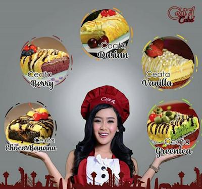 Alamat C'eatA Cake Cita Citata di Bandung