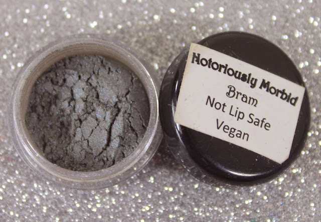 Notoriously Morbid Bram Eyeshadow Swatches & Review