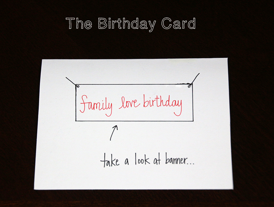 DIY Arrested Development Themed Greeting Cards – Arrested Development Birthday Card