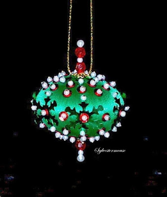 Beaded Christmas Ornament Kits