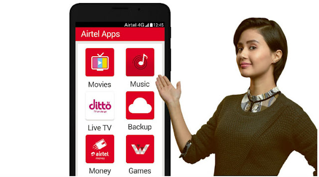 Airtel MyAirtel App Suite Download Free Andriod and iOS