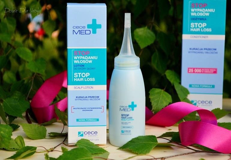 Stop wypadaniu włosów - kuracja Cece MED Prevent Hair Loss - lotion