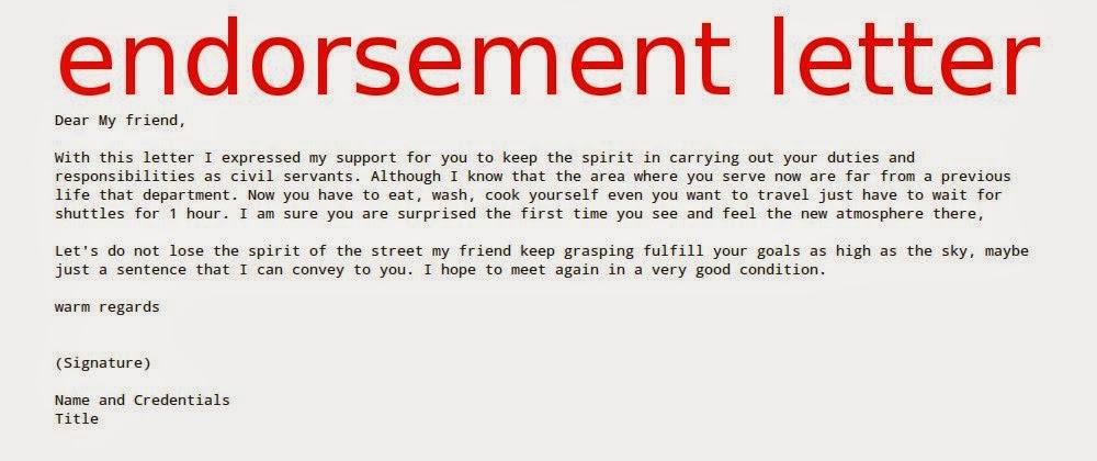 Endorsement Template 20 employee recommendation letter templates – Endorsement Letter for Employment