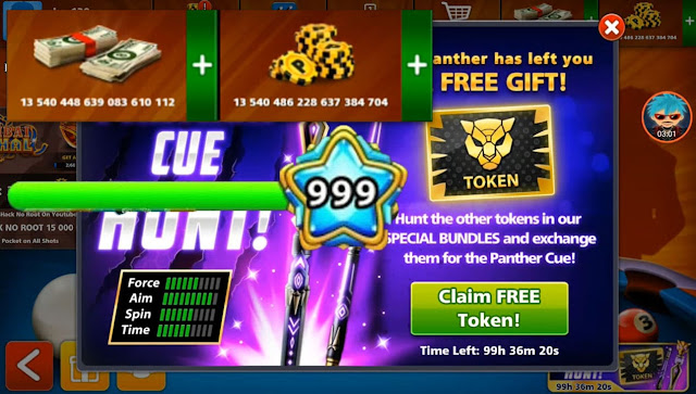 8 ball pool Unlimited coins and cash