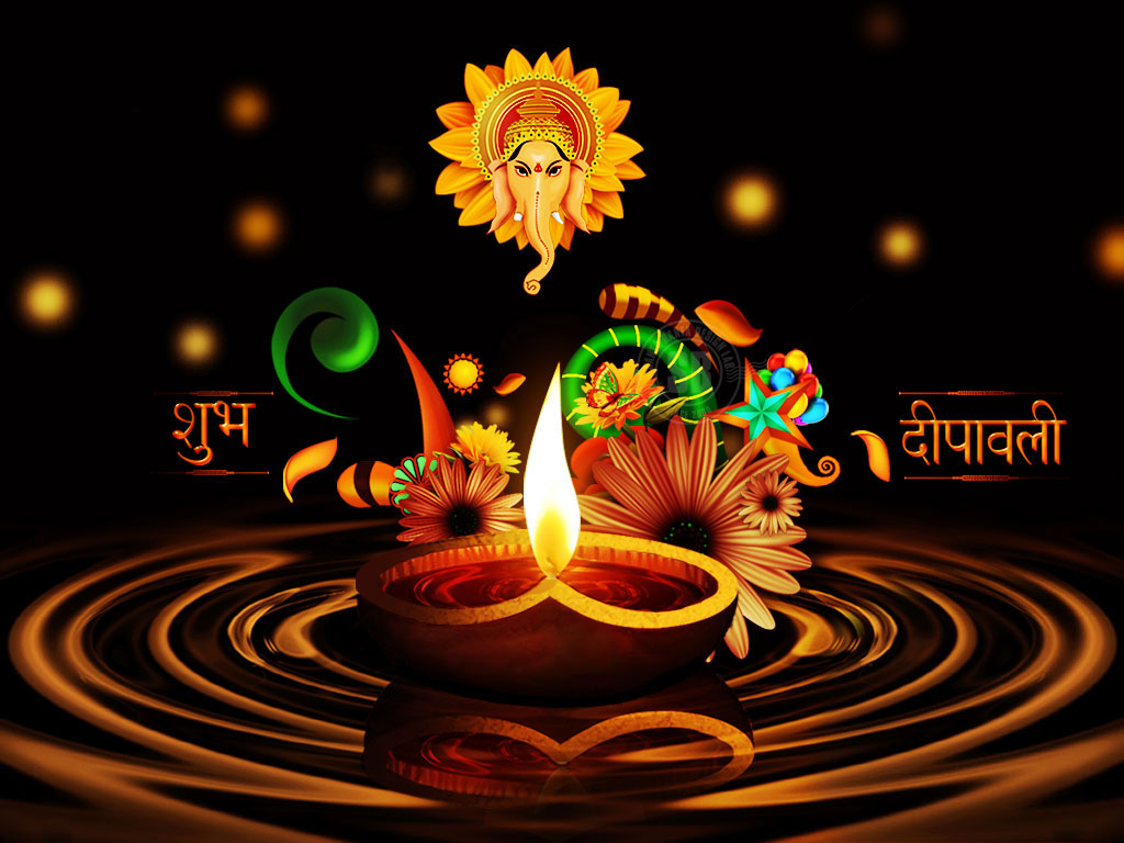 Happy Diwali 2013: Happy Diwali Diya Wishes Wallpapers