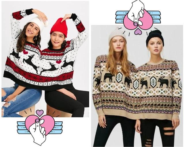 przyjaciółki, sweter, moda, rosegal