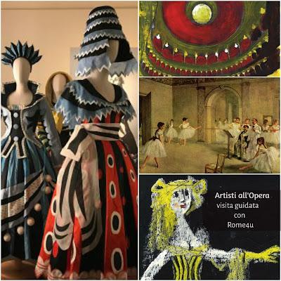 Artisti all'Opera, Picasso, Guttuso, De Chirico: quando l'arte va in scena - Visita guidata Roma