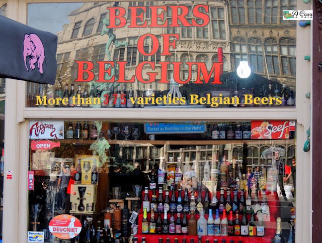 loja cerveja belga