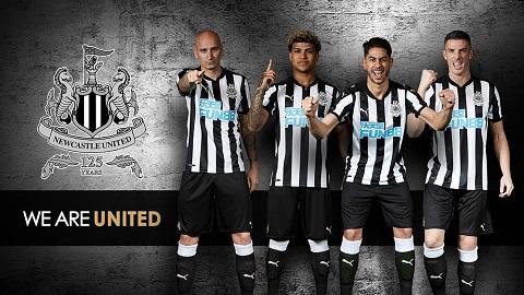 Newcastle United công bố số áo cầu thủ mùa giải 2018/19