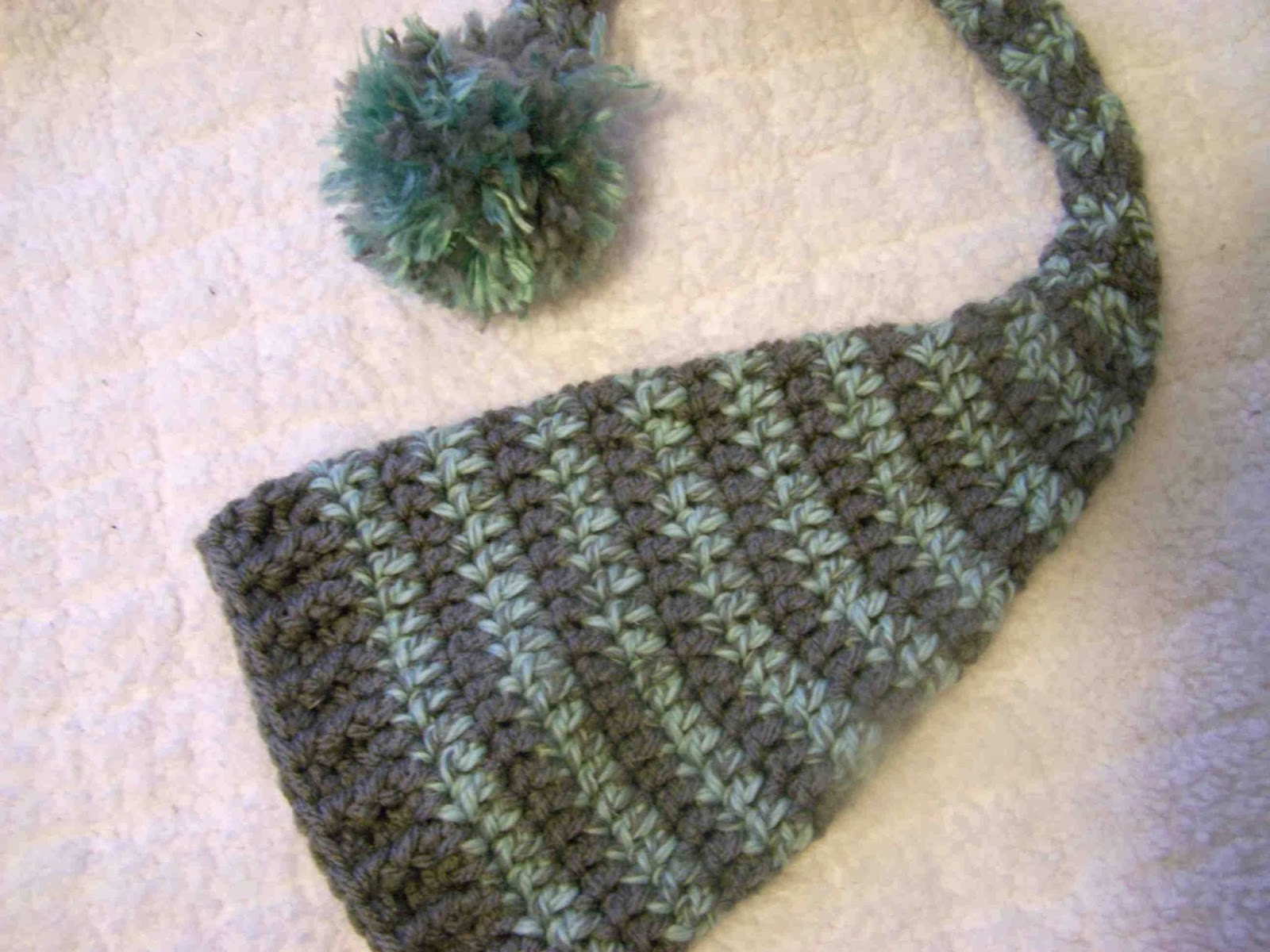 Made by Me. Shared with you.  Free Pattern Friday  Crocheted Elf Hat 04b05d9c406