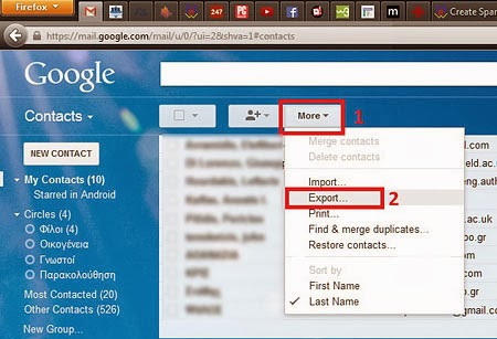 Gmail Export To CSV 2