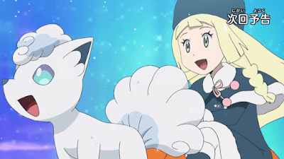 Pokémon Sol y Luna Ultra Aventuras Capitulo 17 Temporada 21 Iniciando una competencia de altura
