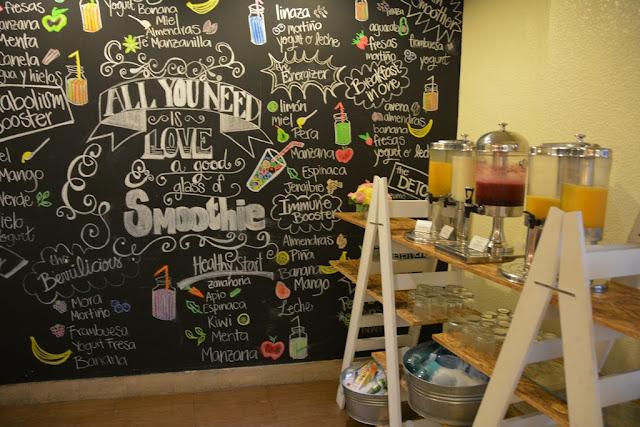 JW Marriott Quito breakfast