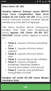Call Center Gojek Jakarta