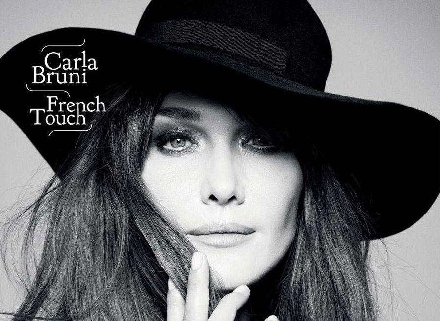 Carla Bruni modella attrice cantante Première Dame