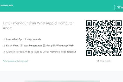 Begini Cara Buka WhatsApp di Komputer atau laptop