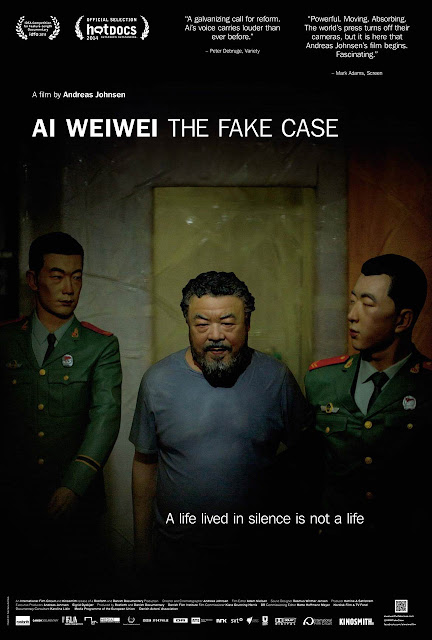 Ai Weiwei: The Fake Case Film Poster Andreas Johnsen