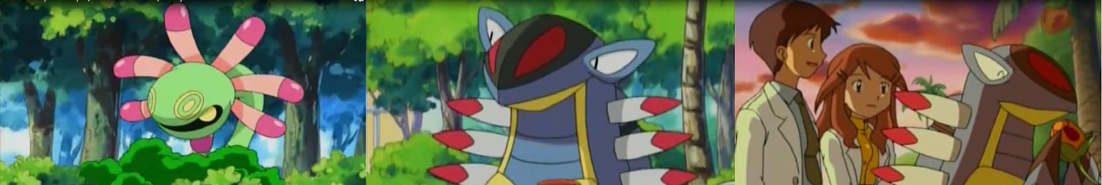 Pokemon Capitulo 10 Temporada 8 ¿Donde Esta Armaldo?