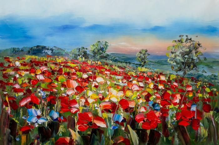 Молодой испанский художник. Jose Rodriguez