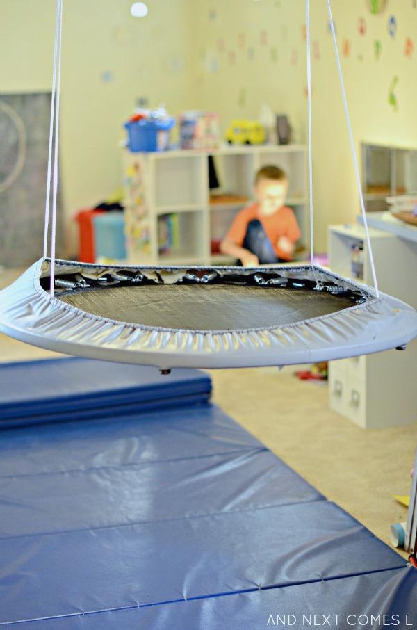 Easy DIY Platform Swing Sensory Hack For Kids And Next Comes L