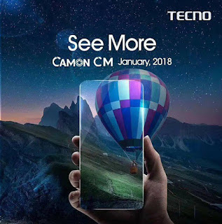 Tecno Camon CM With 3000mAh Battery Full Specifications, Price